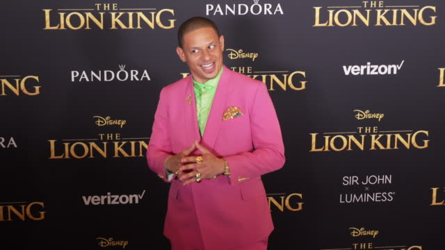 Eric Andre at the World Premiere of Disney's The Lion King at Dolby Theatre on July 09 2019 in Hollywood California