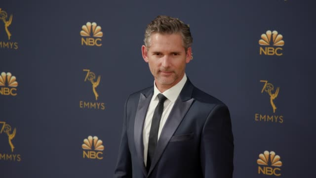 eric bana at the 70th emmy awards arrivals at microsoft theater on september 17 2018 in los angeles california - emmy awards stock videos & royalty-free footage