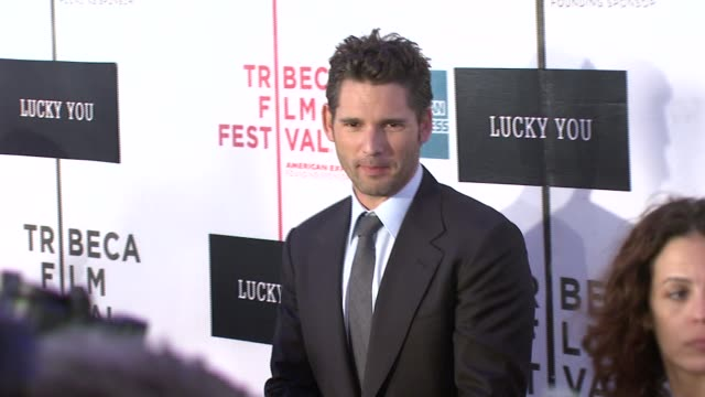 Eric Bana at the 'Lucky You' World Premiere at Tribeca Film Festival at BMCC TribecaPAC in New York New York on May 1 2007