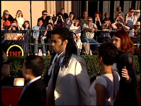 vídeos y material grabado en eventos de stock de eric benet at the 2002 screen actors guild sag awards at the shrine auditorium in los angeles california on march 10 2002 - eric benet