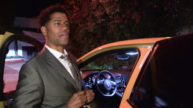 vídeos y material grabado en eventos de stock de eric benet at the 2013 grammy after party at chateau marmont in west hollywood 02/10/13 - eric benet