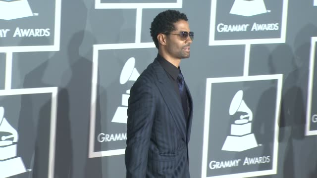 vidéos et rushes de eric benet at the 51st annual grammy awards part 3 at los angeles ca - eric