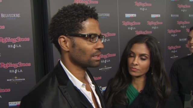 vídeos y material grabado en eventos de stock de eric benet at the rolling stone magazine hosts american music awards after party at rolling stone restaurant lounge at los angeles ca - eric benet