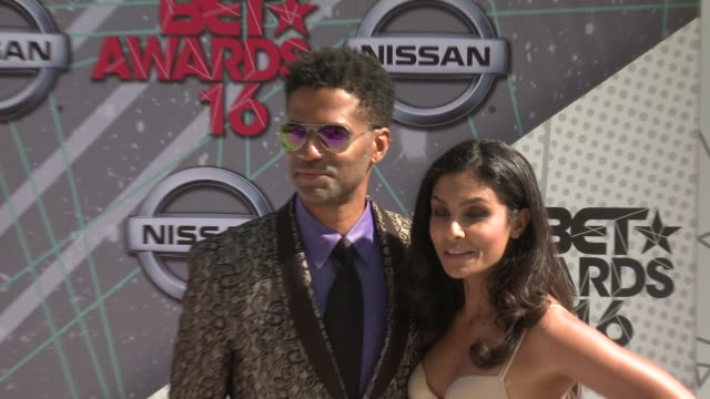 Eric Benet Manuela Testolini at 2016 BET Awards in Los Angeles CA