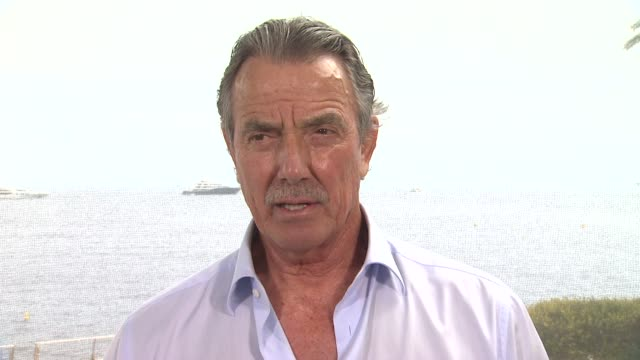 eric braeden on the success of 'the young and the restless' at the 53rd monte-carlo television festival - day 2 in monte-carlo, monaco, on 6/11/13. - såpopera bildbanksvideor och videomaterial från bakom kulisserna