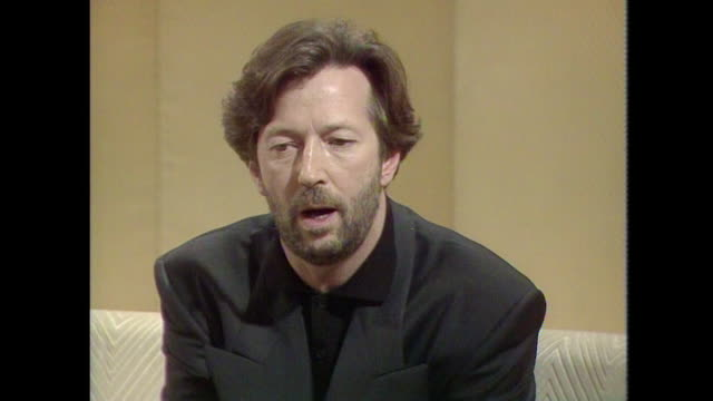 Eric Clapton saying 'The Beatles came along a little bit after I'd already decided what I wanted to be which was to be a blues man'