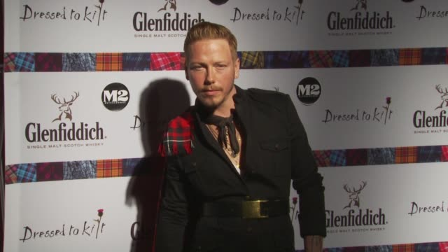 eric daman at the 8th annual 'dressed to kilt' charity fashion show at new york ny - dressed to kilt stock videos & royalty-free footage