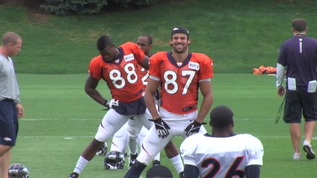 Eric Decker Wes Welker and Demaryius Thomas make up dynamic wide receiver group for the Denver Broncos as they prepare for a rematch with the...