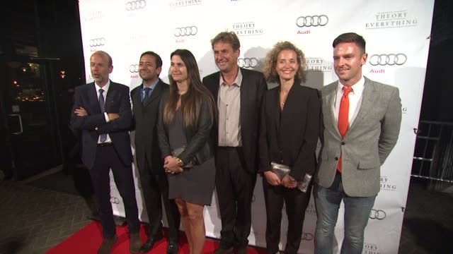 eric fellner and tim bevan the theory of everything premiere party presented by focus features toronto international film festival 2014 at princess... - エリック フェルナー点の映像素材/bロール