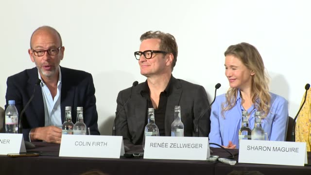 interview eric fellner on bridget jones's menopause and the ovaltine years at claridge's hotel on september 05 2016 in london england - エリック フェルナー点の映像素材/bロール