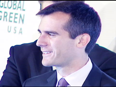 eric garcetti, los angeles city councilmember at the 3rd annual pre-oscar party hosted by global green usa on february 21, 2007. - oscar party stock videos & royalty-free footage