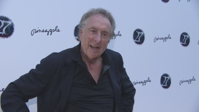 eric idle at '27' press night on september 12 2016 in london england - eric idle stock-videos und b-roll-filmmaterial