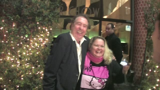 eric idle at mr chow in west hollywood at the celebrity sightings in los angeles at los angeles ca - eric idle stock-videos und b-roll-filmmaterial