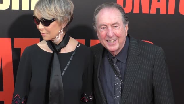 eric idle at the premiere of 20th century fox's 'snatched' - arrivals on may 10, 2017 in westwood, california. - エリック アイドル点の映像素材/bロール
