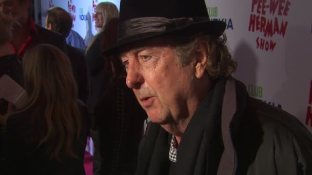Eric Idle at the 'The Peewee Herman Show' Opening Night at Los Angeles CA