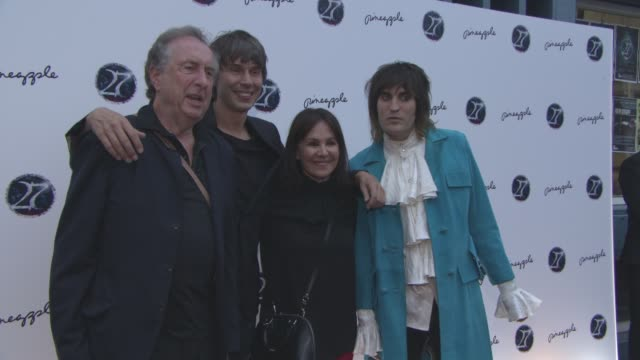 Eric Idle Prof Brian Cox Arlene Phillips Noel Fielding at '27' Press Night on September 12 2016 in London England
