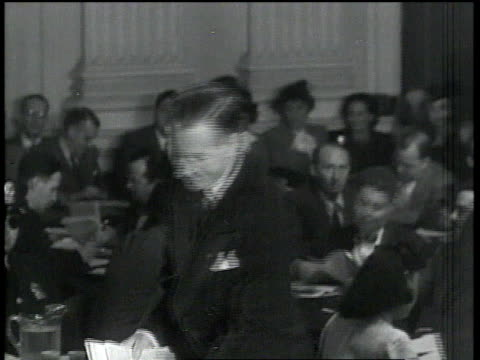 eric johnston being sworn in at the hauc's investigation of julius and ethel rosenberg / washington dc united states - house committee on unamerican activities stock videos & royalty-free footage