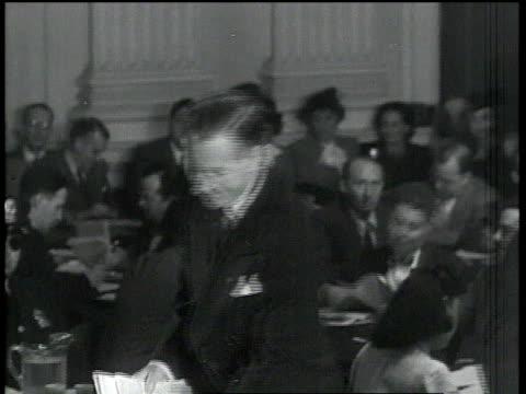 eric johnston being sworn in at the hauc's investigation of julius and ethel rosenberg / washington dc united states - ethel rosenberg stock videos & royalty-free footage