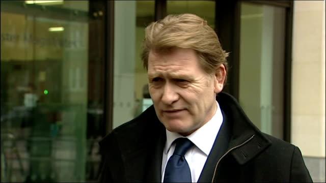 eric joyce avoids prison sentence after assault conviction england london westminster photography** labour mp eric joyce statement to press outside... - gefängnisausbruch stock-videos und b-roll-filmmaterial