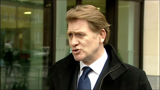 eric joyce statement outside court; england: london: westminster magistrates court: ext eric joyce mp speaking to press sot - clearly it's a matter... - punishment stock videos & royalty-free footage