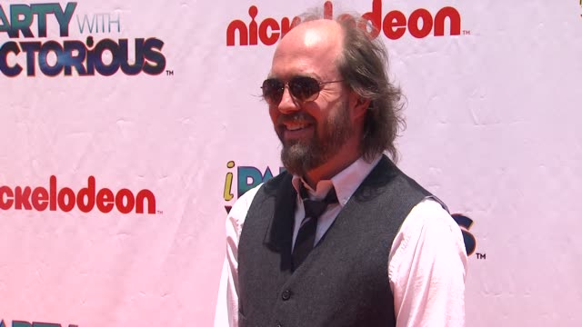 eric lange at the nickelodeon's 'iparty with victorious' premiere at west hollywood ca. - nickelodeon stock videos & royalty-free footage