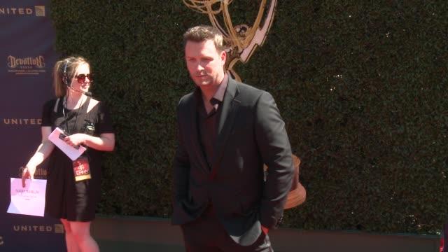 Eric Martsolf at the 44th Annual Daytime Emmy Awards at Pasadena Civic Auditorium on April 30 2017 in Pasadena California