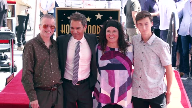 eric mccormack and finnigan mccormack at the eric mccormack honored with a star on the hollywood walk of fame on september 13, 2018 in hollywood,... - eric mccormack stock videos & royalty-free footage