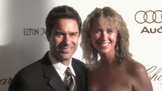 eric mccormack and janet holden at the 14th annual elton john aids foundation oscar party co-hosted by audi, chopard and vh1 at the pacific design... - eric mccormack stock videos & royalty-free footage