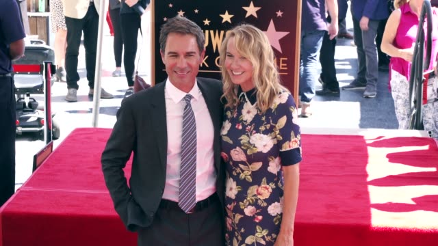 eric mccormack and janet holden at the eric mccormack honored with a star on the hollywood walk of fame on september 13, 2018 in hollywood,... - eric mccormack stock videos & royalty-free footage