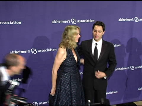 eric mccormack and wife janet holden at the alzheimer's association's 13th annual a night at sardi's celebrity fundraiser at the beverly hilton in... - eric mccormack stock videos & royalty-free footage