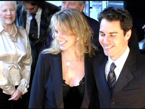 eric mccormack and wife janet holden with parents at the 2005 critics' choice awards at the wiltern theater in los angeles california on january 10... - janet holden stock videos & royalty-free footage