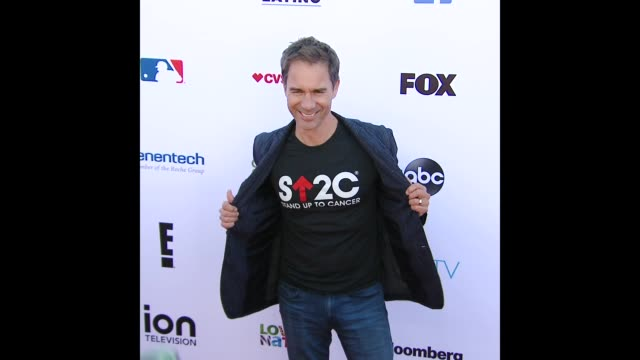 eric mccormack at stand up to cancer 2018 - eric mccormack stock videos & royalty-free footage