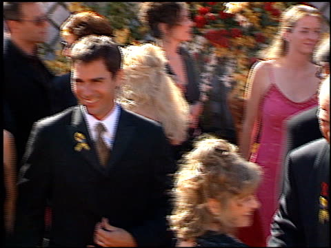 eric mccormack at the 2000 emmy awards at the shrine auditorium in los angeles, california on september 10, 2000. - shrine auditorium video stock e b–roll