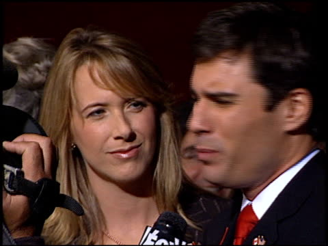 eric mccormack at the 2001 emmy awards at the shubert theater in century city, california on november 4, 2001. - eric mccormack stock videos & royalty-free footage
