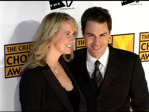 eric mccormack at the 2005 critics' choice awards at the wiltern theater in los angeles, california on january 10, 2005. - eric mccormack stock videos & royalty-free footage