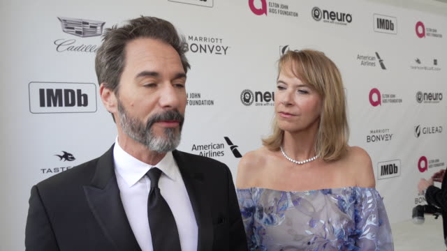 eric mccormack at the 27th annual elton john aids foundation academy awards viewing party sponsored by imdb and neuro drinks on february 24, 2019 in... - eric mccormack stock videos & royalty-free footage