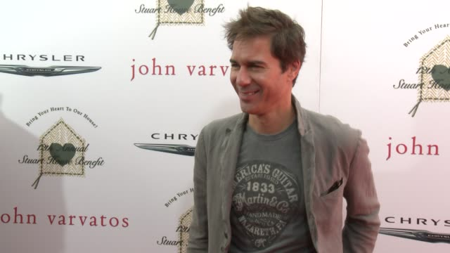eric mccormack at the john varvatos 12th annual stuart house benefit with honorary chair chris pine hosted by chrysler on april 26, 2015 in los... - eric mccormack stock videos & royalty-free footage