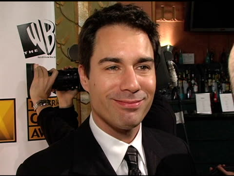 eric mccormack on hosting the awards at the 2005 critics' choice awards interviews at the wiltern theater in los angeles california on january 10 2005 - wiltern theater stock videos and b-roll footage