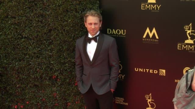 Eric Nelsen at the 2018 Daytime Emmy Awards at Pasadena Civic Auditorium on April 29 2018 in Pasadena California