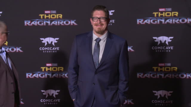 eric pearson at the thor ragnarok premiere at the el capitan theatre on october 10 2017 in hollywood california - thor: ragnarok stock videos & royalty-free footage