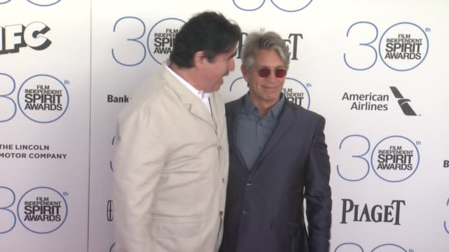 eric roberts and alfred molina at 30th annual film independent spirit awards arrivals at santa monica beach on february 21 2015 in santa monica... - alfred molina stock videos & royalty-free footage