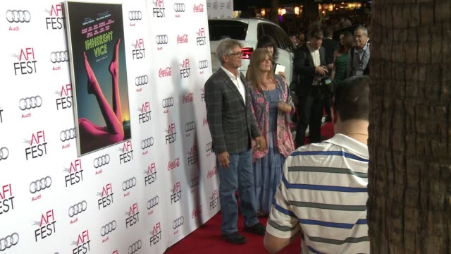 vidéos et rushes de eric roberts at afi fest 2014 presented by audi gala premiere of inherent vice at the egyptian theatre on november 08 2014 in hollywood california - eric roberts