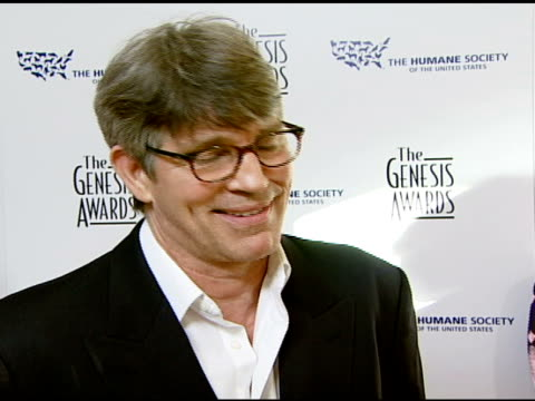 vidéos et rushes de eric roberts on event and the cause at the 2008 genesis awards at the beverly hilton in beverly hills california on march 30 2008 - eric roberts