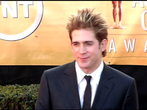 Eric Szmanda at the 2005 Screen Actors Guild SAG Awards Arrivals at the Shrine Auditorium in Los Angeles California on February 5 2005