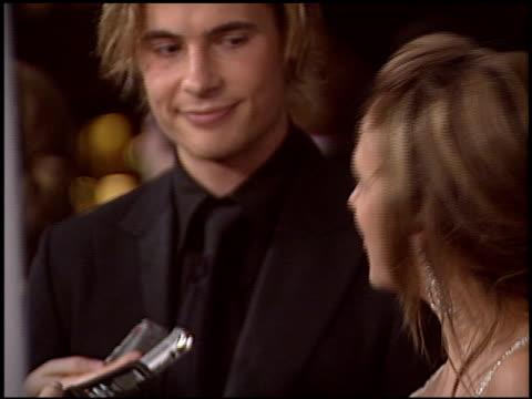 eric von detten at the 2005 People's Choice Awards at the Pasadena Civic Auditorium in Pasadena California on January 9 2005