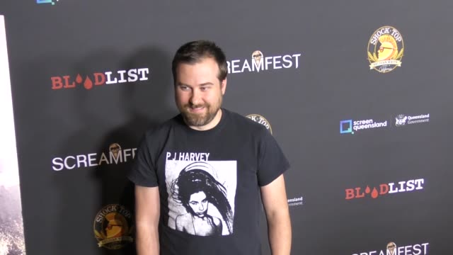 eric wing at the screamfest opening night - premiere of 'dead ant' at tcl chinese theatre on october 10, 2017 in hollywood, california. - tcl chinese theatre stock-videos und b-roll-filmmaterial