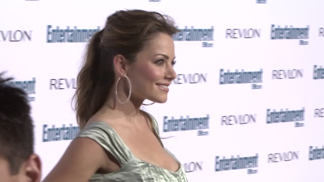 erica durance at the entertainment weekly 6th annual pre-emmy party at los angeles ca. - エミー賞前夜祭パーティー点の映像素材/bロール