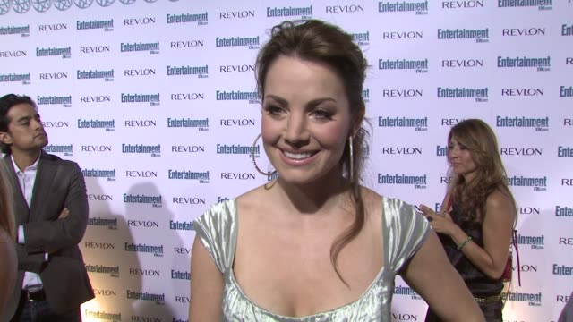 stockvideo's en b-roll-footage met erica durance at the entertainment weekly 6th annual pre-emmy party at los angeles ca. - pre emmy party