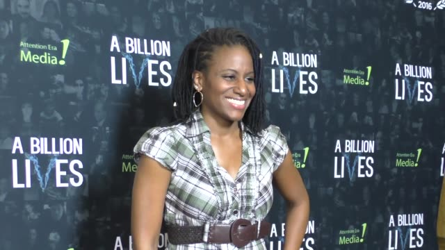 erica ross at the premiere of award-winning documentary 'a billion lives' on october 26, 2016 in hollywood, california. - ドキュメンタリー映画点の映像素材/bロール