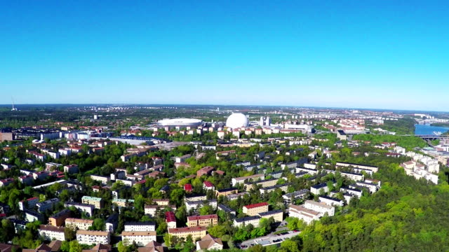 ericsson globe stockholm - multicopter stock videos & royalty-free footage